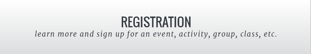 Register for an event, activity, group, class, etc.