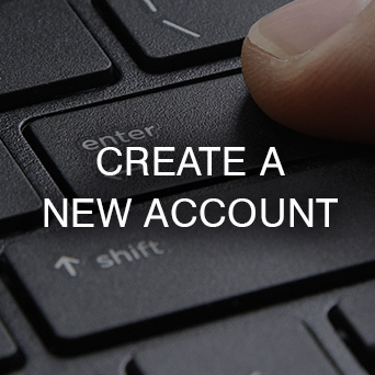Create a New Account Button