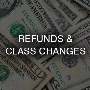 Refunds and Class Changes Button