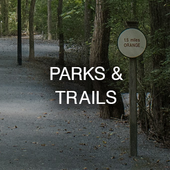 Parks and Trails Map