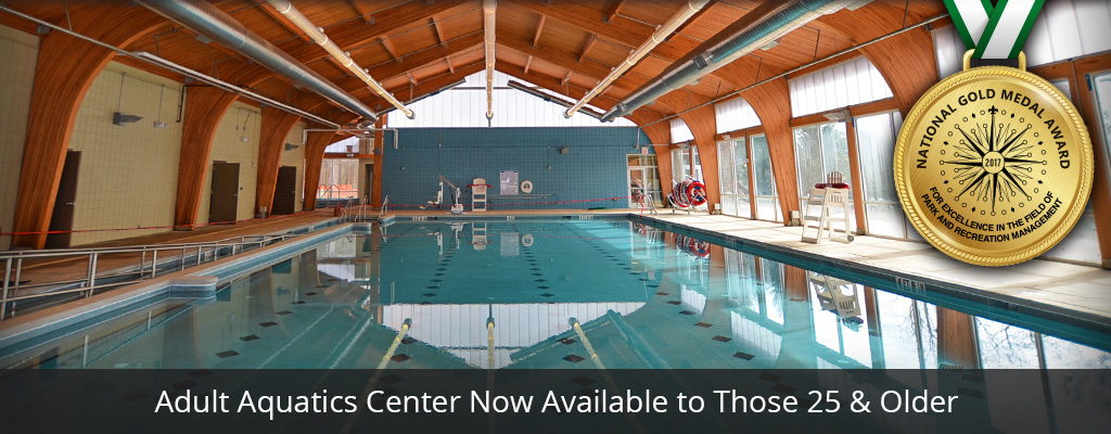 Adult Aquatics Center Now Open