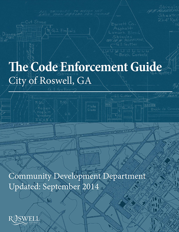 Code Enforcement Brochure Cover