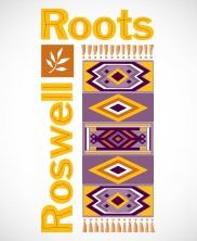 Roswell Roots Logo