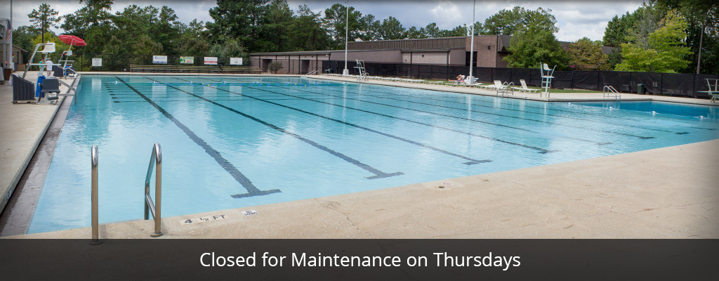 Pool Closed on Thursdays