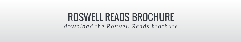 Roswell Reads Brochure