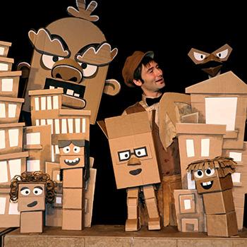 Cardboard Explosion