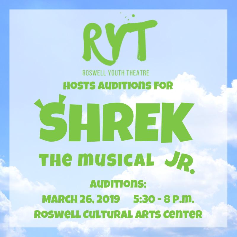 Shrek JR Audition
