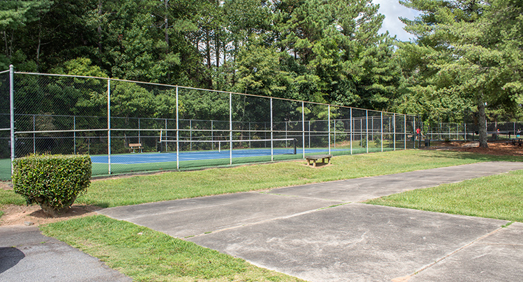 Lake Charles Tennis Courts