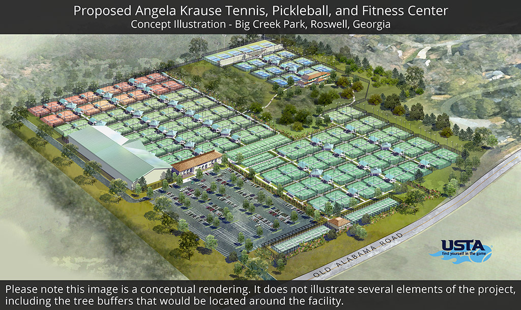 Angela Krause Tennis Facility Concept