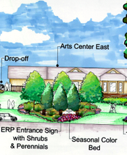 East Roswell Park Entrance Renovations
