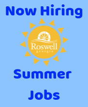 Summer Jobs Available at City of Roswell